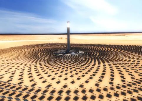 中英希三国合作光热发电项目