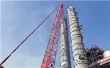 65亿!全球第一大煤制清洁工业燃气项目大型设备吊装圆满完成