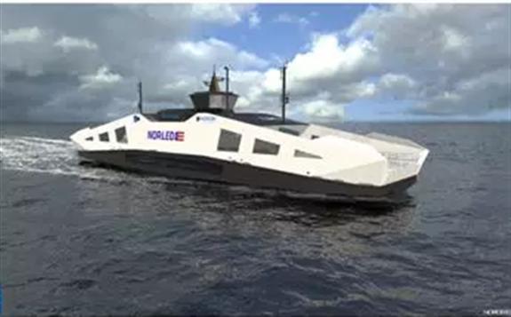 挪威将推出液态氢动力渡轮