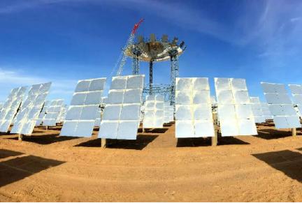 酒泉农发行投放2亿元贷款支撑玉门熔盐塔式5万千瓦光热发电项目建设