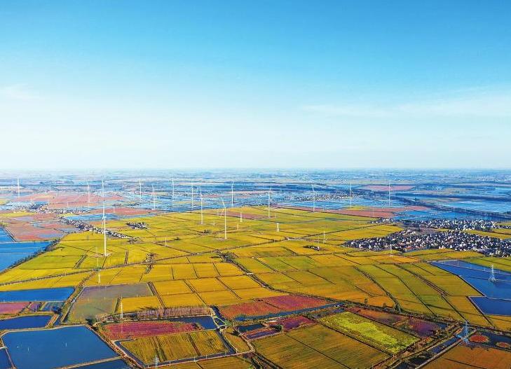 国内首批30最高台风机正式并入江苏电网