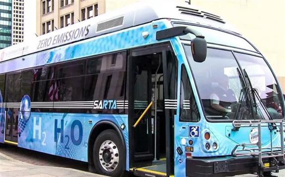法国城市启用氢动力快速公交系统
