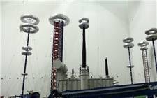 中国首条清洁能源外送特高压通道(青海侧)首台变压器组装成功