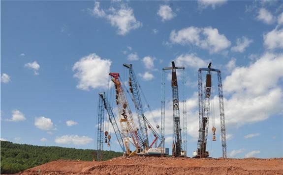 四川水电外送第四回雅中±800千伏特高压直流工程顺利开工