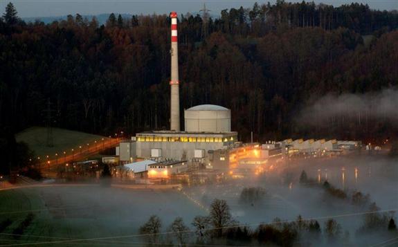 瑞士宣布正式关闭瑞士米勒贝格核电厂,标志瑞士终结原子能源时代的开始