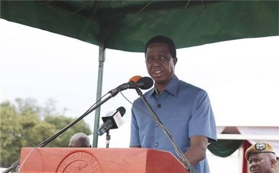 中国HUAWEI向赞比亚捐赠的离网太阳能电站举行启用仪式