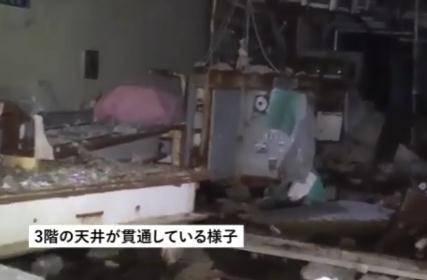 福岛核电站3号机反应堆氢气爆炸后影像曝光!辐射量惊人