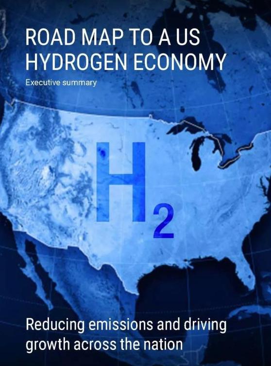 ?美国氢能经济路线图—减排及驱动氢能在全美实现增长