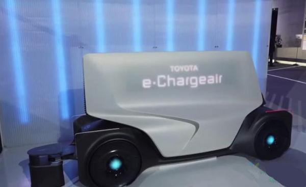 e-Chargeair 丰田为电动车研发大型可移动的充电宝