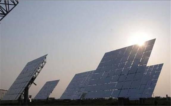 新疆首个光热电站并入电网运行