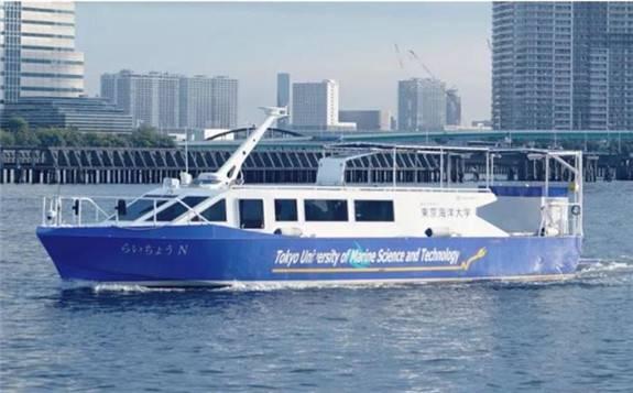 东芝ESS交付移动式船用氢燃料电池系统