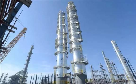 """""""千亿级""""炼化航母--浙石化4000万吨/年炼化一体化项目建设进展备"""