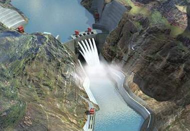 世界第七大水电站——乌东德水电站工程通过蓄水验收