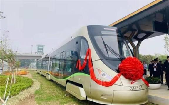 世界首条氢能源有轨电车正式投入商业运营
