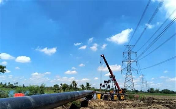 中石油管道局承建泰国拉差布里项目线路全线贯通