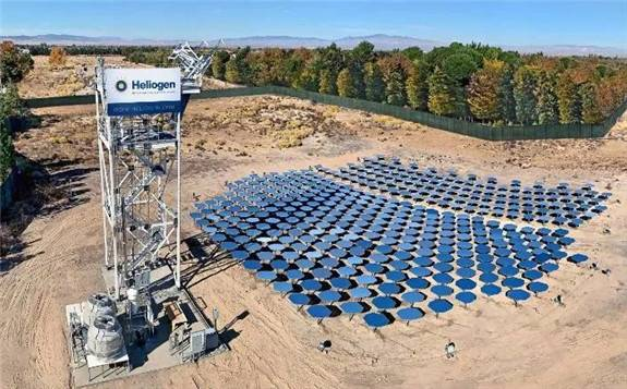 """比尔盖茨投资的""""Heliocgen""""清洁能源企业实现光伏制热新突破"""