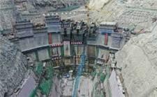 国内首个百万千瓦级EPC水电项目——杨房沟水电站大坝身高超百米