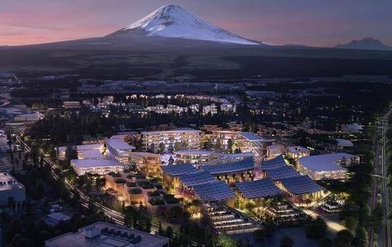 丰田将在日本富士山下建造未来智能城市 力推氢能