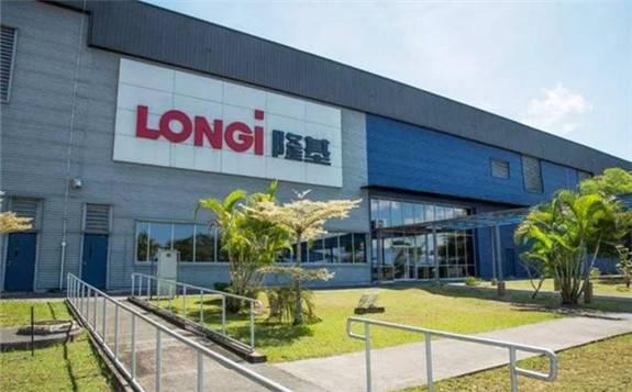 隆基股份签订103.44亿元的硅片销售框架合同