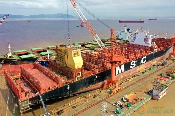 浙江舟山中远海运重工全速推进脱硫改装效率