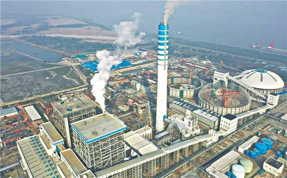 孟加拉国第一个使用进口煤的发电厂正式运营