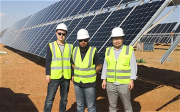 中日印三国企业联手打造全球最大单体N型光伏电站,2020年1月并网使用