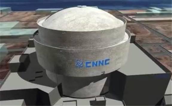 """中国自主三代核电""""华龙一号""""全球首堆, 福清核电5号机组2020年将实现并网发电"""