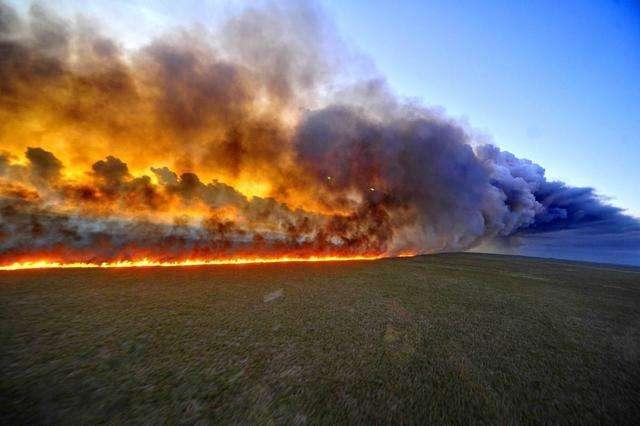英国研究人员综合57份报告分析:气候变化正在增加世界各地野火风险