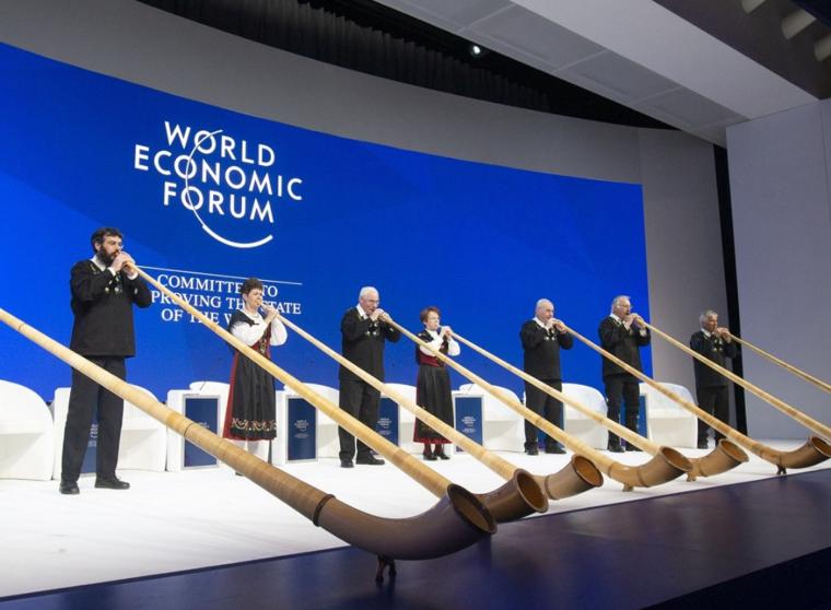 """2020年世界经济论坛达沃斯年会将落实""""气候中性""""承诺"""