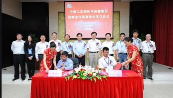 中国核能科技斥合计约7750万元收购协鑫两光伏发电项目