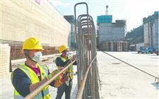 总投资27.18亿元的福建闽江水口水电站枢纽改善工程恢复施工