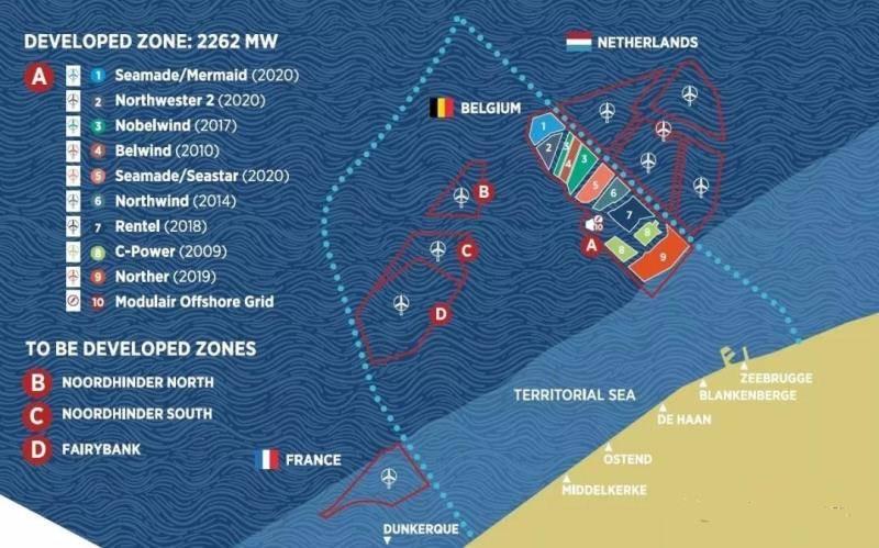 比利时有望完成世界上首个投运的商业化海上风电制氢项目