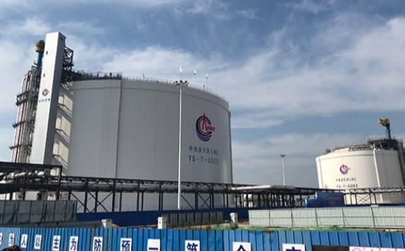 中国海油填补国内超大容积LNG储罐技术空白 成本可降两成