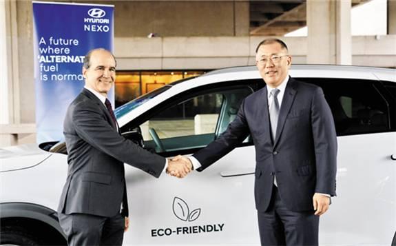 现代汽车与美国政府建立未来汽车技术合作伙伴关系