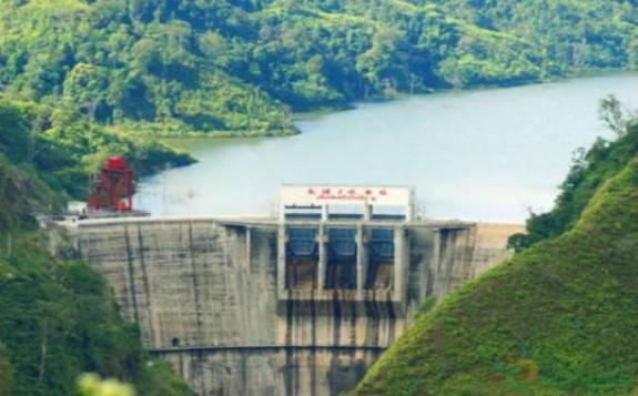 老挝南欧江梯级水电项目二期首台机组发电