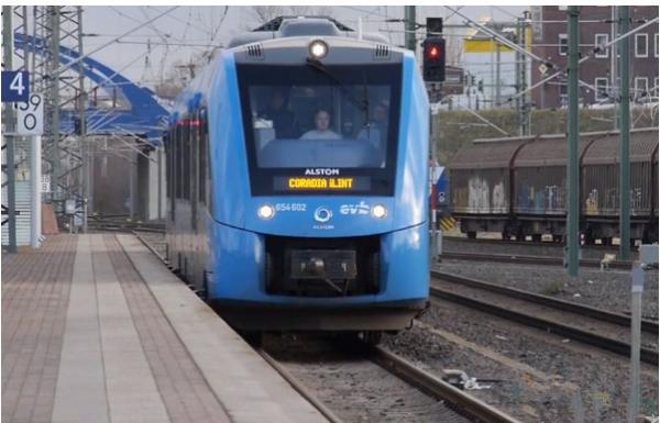 德国都伦区进行其首台氢能火车的测试 每日行驶1000公里