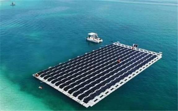 阿联酋首个近海浮式太阳能发电厂将投产