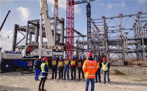 """中国能建安徽电建一公司承建""""一带一路""""海外工程,建设再提速"""