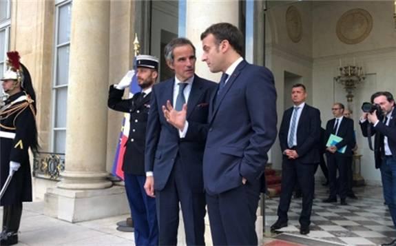 IAEA总干事拉斐尔·格罗西访问法国,感谢法国在核电领域的领导作用