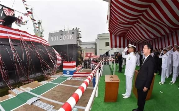 日本首艘搭載鋰離子電池的海自新潛艇交付