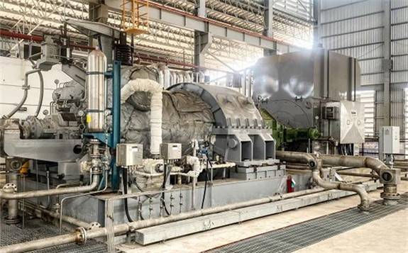 中国能建承建泰国生物质电站冲转一次成功