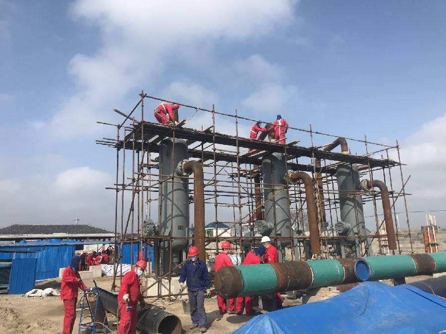 国家重点工程:中国华电投资建设的启通天然气管线项目正式复工