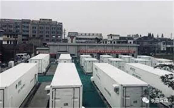 安徽省最大用户侧储能电站项目预计于年内并网运行