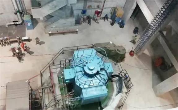 华龙一号海外首堆——巴基斯坦两台循环水泵带载试车圆满完成