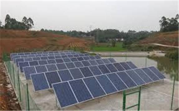 我国扬程最高的太阳能提灌站在九寨沟县投入使用