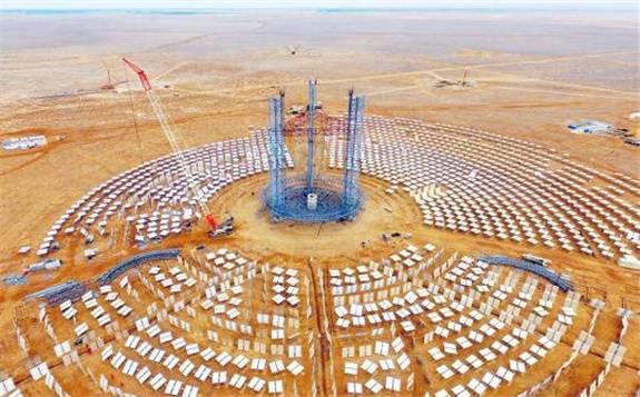 两光热发电项目入选《2020年甘肃省省列重大项目名单》