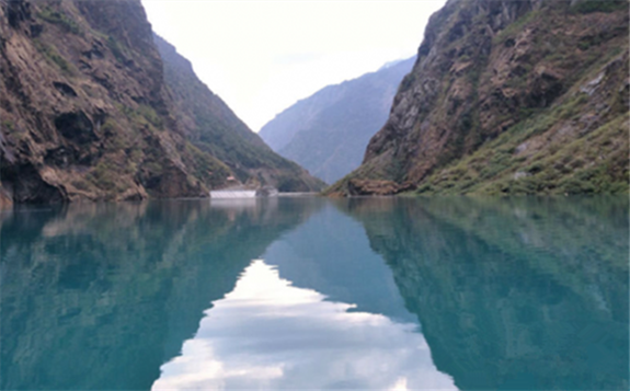 尼泊爾最大上塔馬克西水電站完成首次蓄水