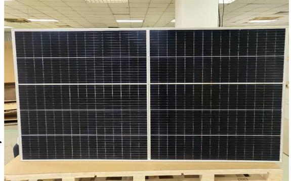 天合光能500W+至尊組件項目正式出貨