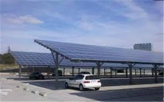 日本建成其國內最大的太陽能發電停車場
