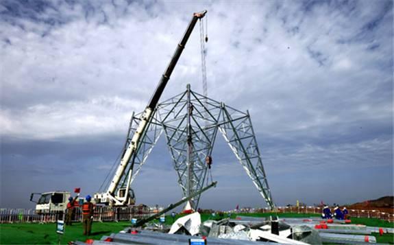 国家电网:陕北-湖北特高压直流工程湖北段项目正式开工